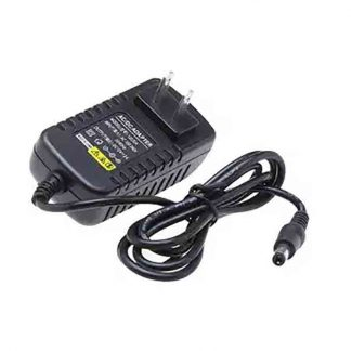 12V 2A Universal Power Adapter Charger - Black