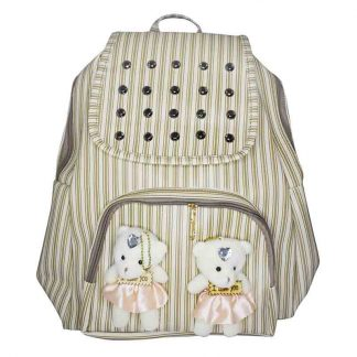 Backpack Bag with Teddy Bear For Women