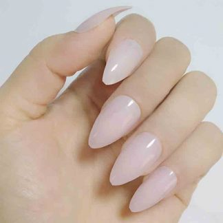 Charming Nails Medium Length Acrylic Fake Nails with Glue Included, Make your own Design.