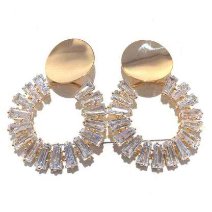Diamond Cut Earring for Women