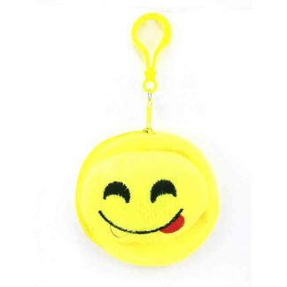 Emoji Keychain emoji Key Ring Bag Yellow