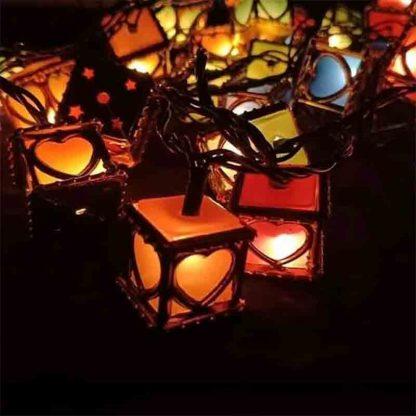 Led Lights Decorative love box