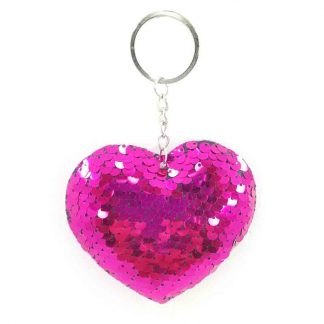 Love Shape Key Chain