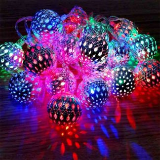Moroccan Ball Light