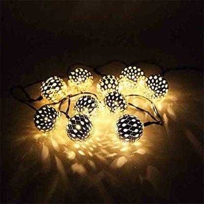 Moroccan Ball Light