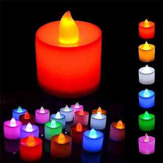 Multi Colour led Candle light