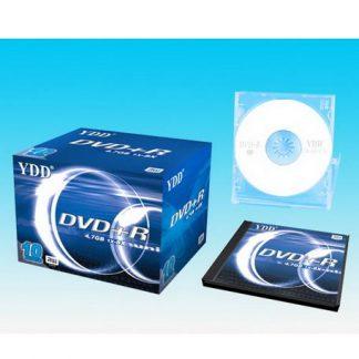 YDD Blank DVD-R 1X-16X Speed 4.7 GB 10Pcs