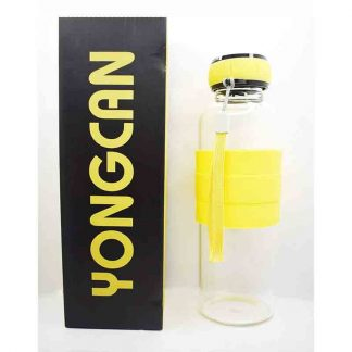 Yongcan 450ml Glass Bottle (Yellow)