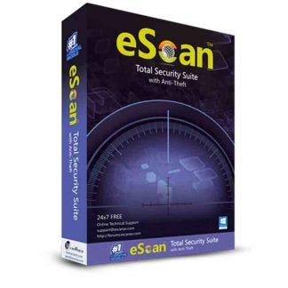 eScan 2019 Total Security for 1 User