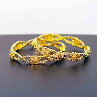Gold Plated Bangle for Women