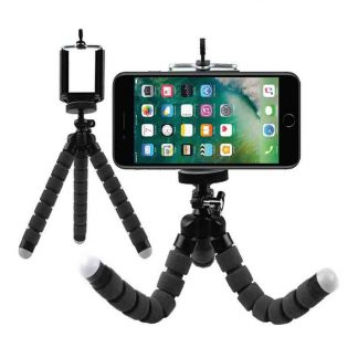 Flexible Octopus Tripod Mobile Holder Stand