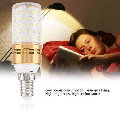 LED Corn Bulbs,Candle Bulbs, 360Degree E14 12W Color