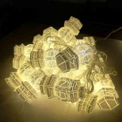 Led Lantern Shape 20 Led String Lights