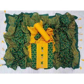 Organdy Fabric with Yeok Batik Salwar Kameez