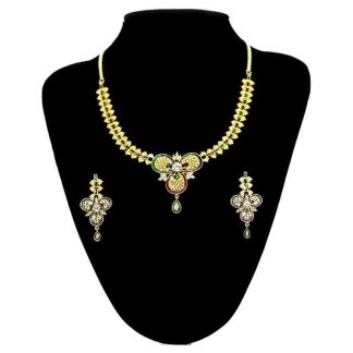AD Necklace with Earrings fro Women