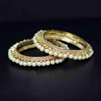 Pearl Design Bangle for Women