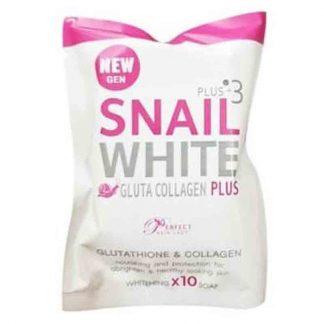 Snail White Gluta Collagen Plus+3 Whitening Soap