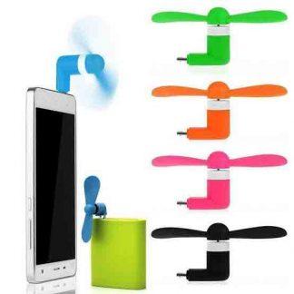 2 in 1 USB & Micro USB Otg mini fan
