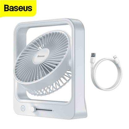 Baseus Cube Shaking 5400mAh Portable wireless Fan