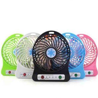 Portable Mini USB Rechargeable Desk Fan