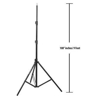 Premium Light Stand Mark 9.5 Feet Light & Umbrella Stand for Photography & Video