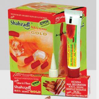 Shahzadi Nail Hena Gold
