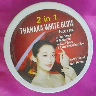 Thanaka White Glow Face Pack 2 in 1 - 300 ml