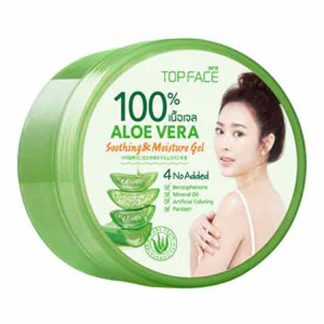 Top Face Aloe Vera Soothing and Moisture Gel 300g.