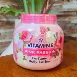 Vitamin E Pink Passion Perfume Body Cream