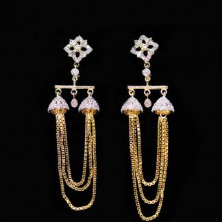 Artificial American Diamond Stone Earring for Women
