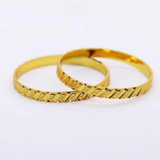 Gold Plated Bangles for Women