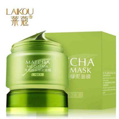 Laikou Matcha Mud Mask Facial Mask Cream - 85gm