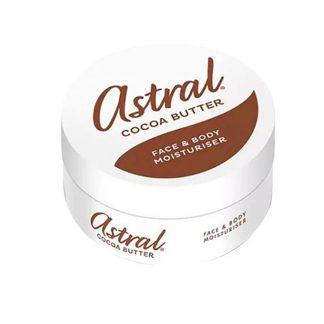 Astral Cocoa Butter Face & Body Moisturiser Cream - 200ml