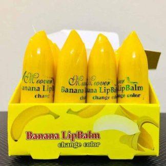 Banana Lip Balm & Lipstick for Pinkish Lips