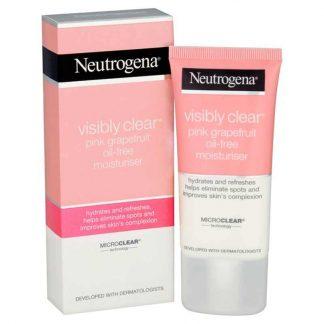Neutrogena Visibly Clear Pink Grapefruit Oil-Free Moisturiser (50 ml)