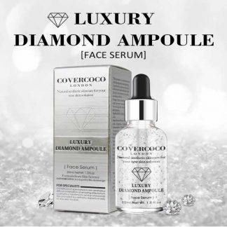 COVERCOCO Skin Care Best Moisturizing Brightening Firming Ageless 24K Luxury Diamond Face Serum