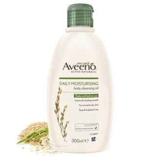 AVEENO DAILY MOISTURISING BODY CLEANSING OIL – 300ML