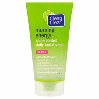 Clean & Clear Morning Energy Shine Control Face Scrub150ml