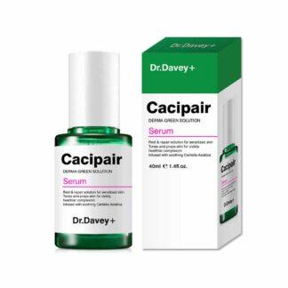 DR.DAVEY CACIPAIR DERMA GREEN SOLUTION SERUM GREEN TEA SERUM HYALURONIC ACID SERUM