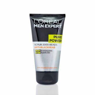 L'Oreal Men Expert Pure Power Anti-Blackhead Scrub - 150ml