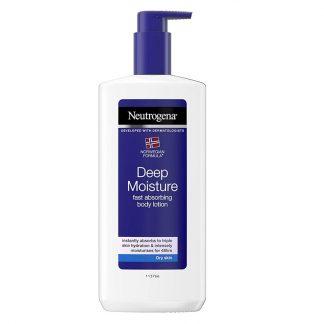 Neutrogena Deep Moisture Fast Absorbing Body Lotion -400ml