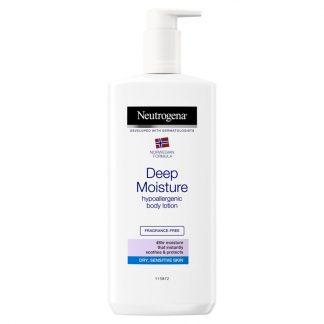 Neutrogena Deep Moisture Hypoallergenic Body Lotion -400ml