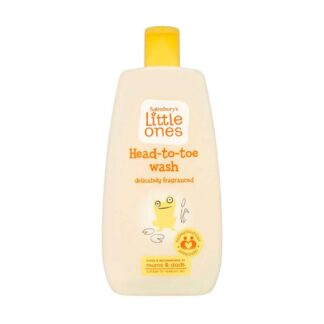 Sainsbury's Little One Baby Head-To-Toe Wash - 500ml