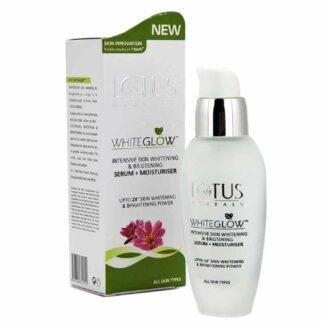 Lotus Herbals White Glow Intensive Skin Serum+ Moisturiser, 30ml