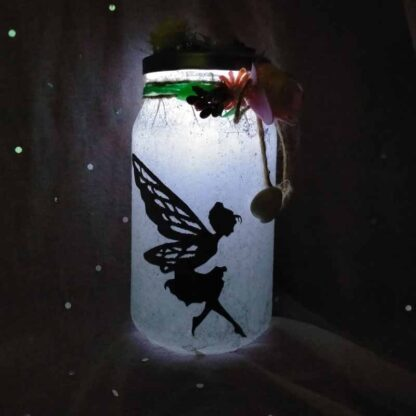 Lover Jar with Led Candle