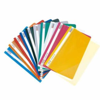 A4 Report Cover/Punch File - 12 Pcs