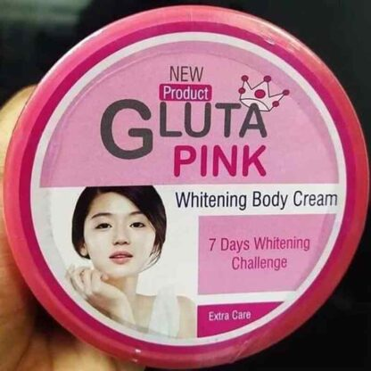 GLUTA pink whitening face pack