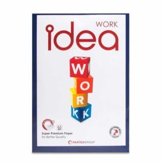 Idea Offset Paper, A4, 65 GSM (Pack of 500 Sheets)