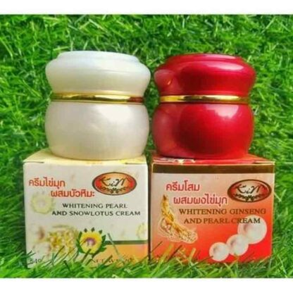 KIM Whitening Cream : Pearl & Snow Lotus Smoother : Thailand