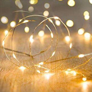 Led String Lights 100 LEDs Decorative Fairy Battery Powered String Lights